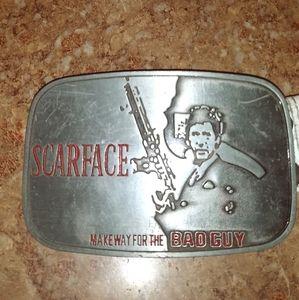 SCARFACE Belt Buckle
